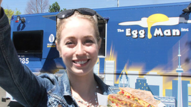 Visit The Egg Man Inc. for a chance to win an eggs-citing gift basket! (CNW Group/Egg Farmers of Ontario)