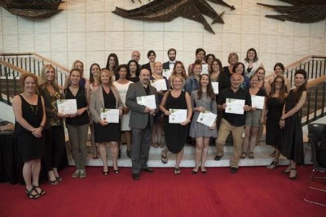 Organisations méritantes de la 15e édition du programme Classes Affaires (Groupe CNW/Montréal Relève)