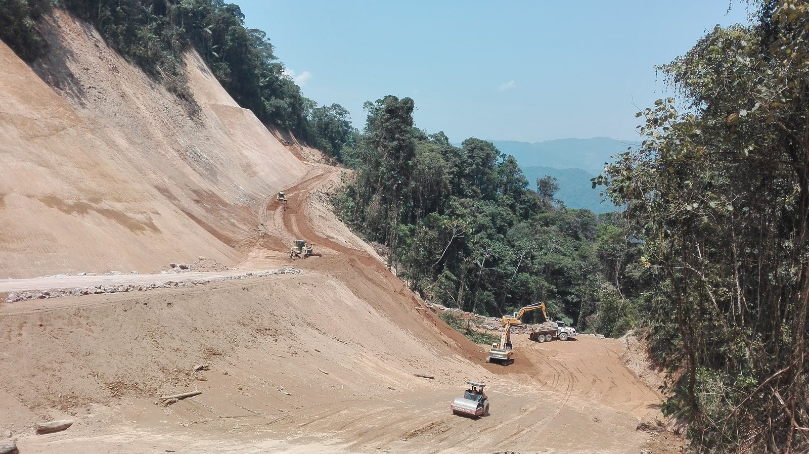 Figure 5. North Access road is expected to be completed by the end of September