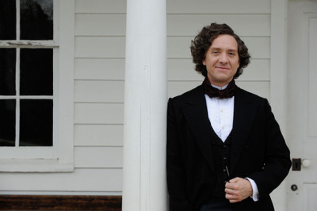 Shawn Doyle as John A. Macdonald (CNW Group/Canadian Broadcasting Corporation)