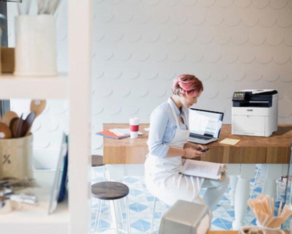 Nouvelles imprimante couleur et imprimante multifonction de Xerox : des fonctionnalités pour grandes entreprises au service des petits bureaux (Groupe CNW/Xerox Canada)