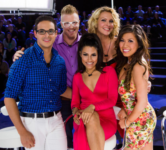 The First Five reunite and prepare for an epic competition on Big Brother Canada. (CNW Group/Global Television)