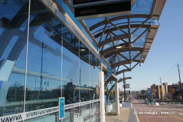Davis Drive Rapidway (CNW Group/Metrolinx)