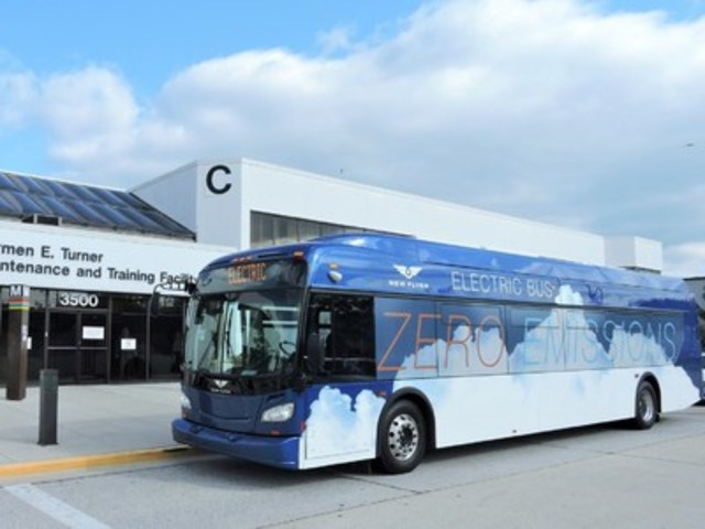 Washington Metropolitan Area Transit Authority to add New Flyer Xcelsior® XE40 battery-electric bus (CNW Group/New Flyer Industries Inc.)