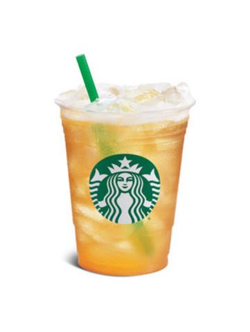 Teavana® Sparkling Black Tea & Tangerine (CNW Group/Starbucks Coffee Canada)