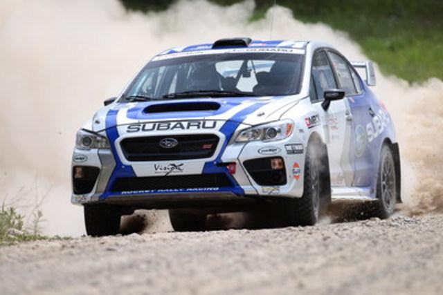 Subaru Canada : Victoire de la SRTC au Rocky Mountain Rally (Groupe CNW/Subaru Canada Inc.)