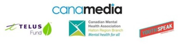 Canamedia, Telus Fund, Canadian Mental Health Association, Youth Speak (CNW Group/Canamedia)