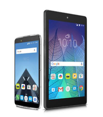 Grâce à leur prix abordable et à leur design élégant, l'IDOL 4 et la POP 7 LTE offrent aux clients de partout au Canada une grande valeur en matière de téléphone intelligent et de tablette (Groupe CNW/Alcatel)