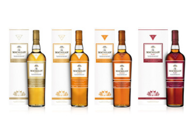 The Macallan 1824 Series (CNW Group/BEAM Global Canada Inc.)
