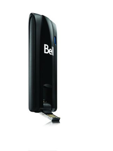 On September 22, Bell launched on its new 4G LTE network the 4G LTE Novatel Wireless U679 Turbo Stick (CNW Group/BELL CANADA)