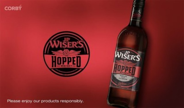 J.P. Wiser's Hopped Canadian Whisky (CNW Group/Corby Spirit and Wine Communications)