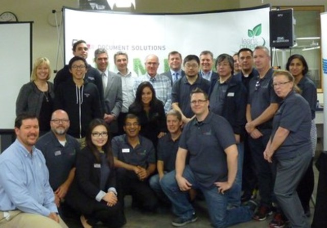 Le travail d'équipe entre les solutions de documents de l'université SFU et Ricoh a entraîné une journée portes ouvertes fructueuse pour présenter les tout derniers services de technologie. (Groupe CNW/Ricoh Canada Inc.)