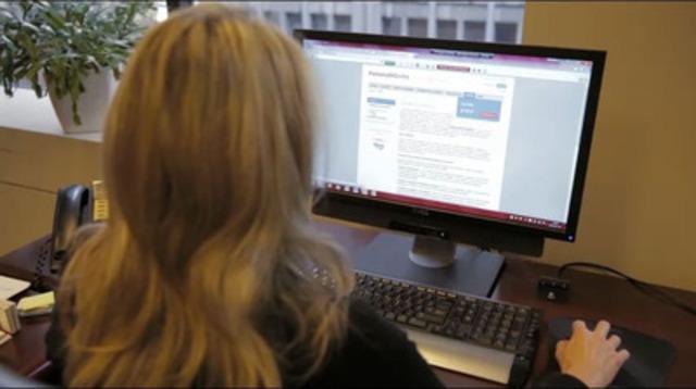 Rouleau B: vidéo de qualité professionnelle pouvant être téléchargée afin d'appuyer un reportage sur la prévention des AVC.