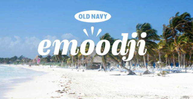Old Navy launches Emoodji, a site that analyzes your emoji usage to read your mood, send your perfect colour flip flops  and plan your dream vacation (CNW Group/Old Navy)