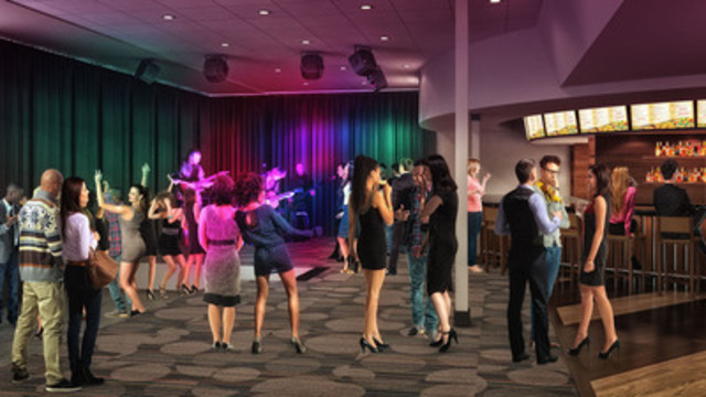 Rendering: Elements Casino - Entertainment Lounge (CNW Group/Great Canadian Gaming Corporation - Media Relations)