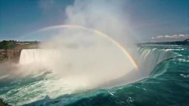 15 second video – Niagara Rainbow