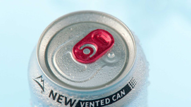 New Coors Light Vented Can. (CNW Group/Molson Coors Canada)