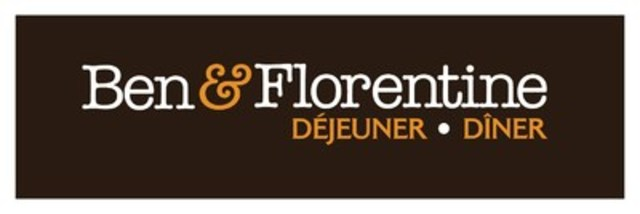 Logo : Ben & Florentine (Groupe CNW/Ben & Florentine Restaurants Inc.)