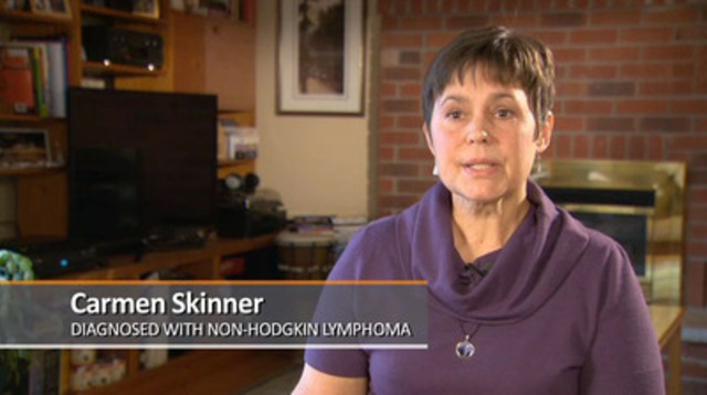 Video: Lymphoma patient describes how treatment choice gives her hope