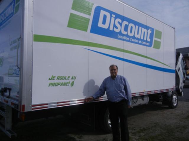 Robert Lalonde, vice-président de Discount Québec. (Groupe CNW/LOCATION D'AUTOS ET DE CAMIONS DISCOUNT)