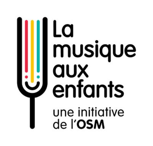 Logo : La musique aux enfants, une initiative de l'OSM (Groupe CNW/Orchestre symphonique de Montréal)