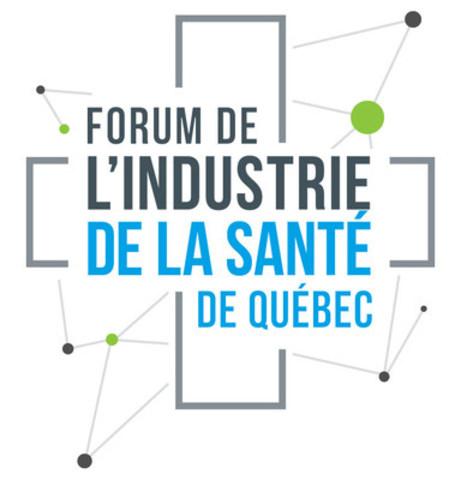 Logo : Forum de l'industrie de la santé de Québec (Groupe CNW/Québec International)