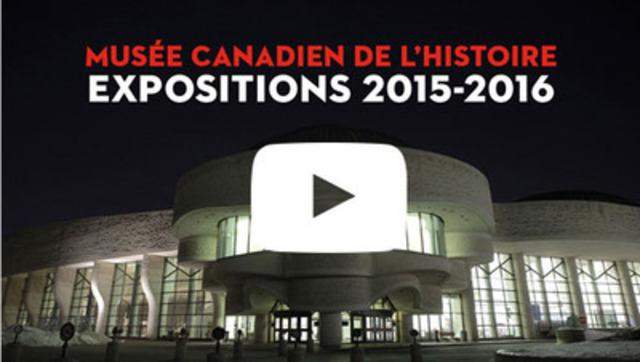 Le Musée canadien de l'histoire lance sa saison 2015-2016  (Groupe CNW/Musée canadien de l'histoire)