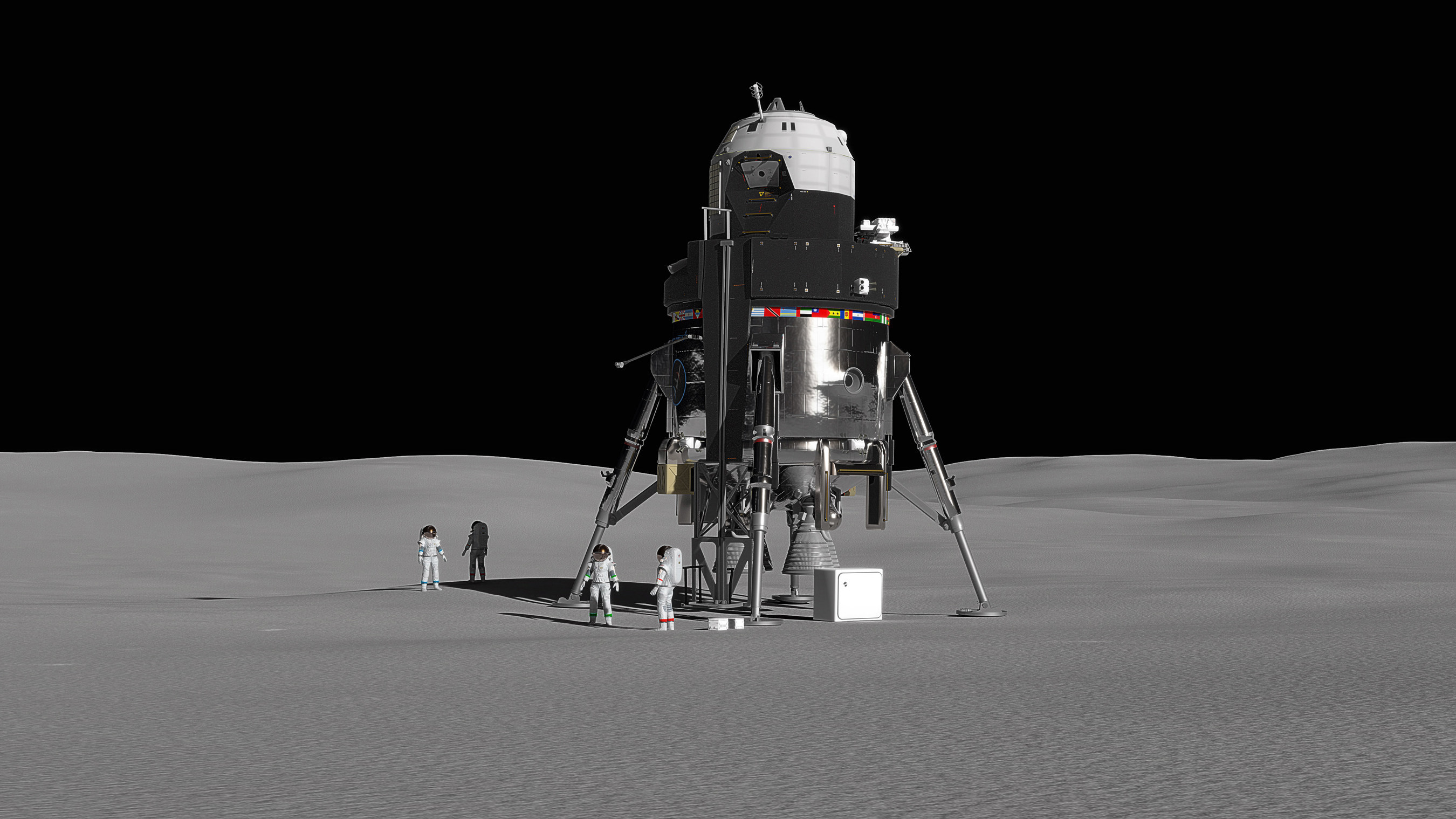 Retour vers la Lune : Esa, RosCosmos, Jaxa, Nasa, Chine, Inde 1
