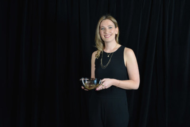 Laura Stone, a politics reporter who moves from Globalnews.ca to The Globe and Mail''s Ottawa bureau next week, was the recipient of last year's Greg Clark Award. She spent a week getting an inside look at the RCMP's Senate investigation. (CNW Group/Canadian Journalism Foundation)