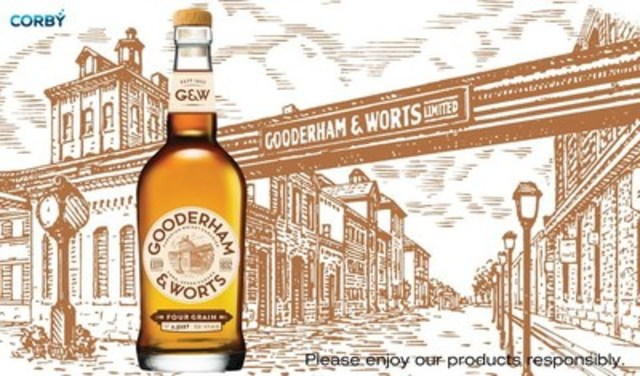 Gooderham & Worts Canadian Whisky (CNW Group/Corby Spirit and Wine Communications)