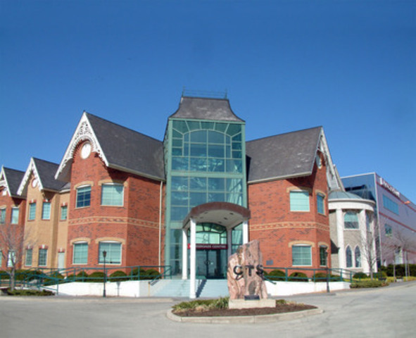 The Crossroads Centre building in Burlington, Ontario (CNW Group/Crossroads Christian Communications Inc.)
