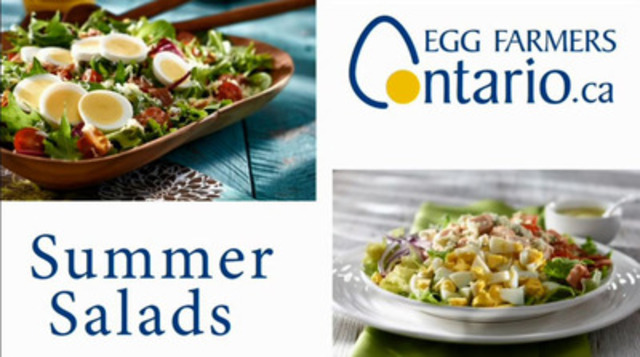 Video: Cool Summer Salads for Hot Summer Days - Summer party time is here, so why not start the party with two delicious and filling summer salad recipes from Egg Farmers of Ontario (EFO). Both are perfect for an intimate patio party, a quiet dinner for two or a sunny brunch with the family.