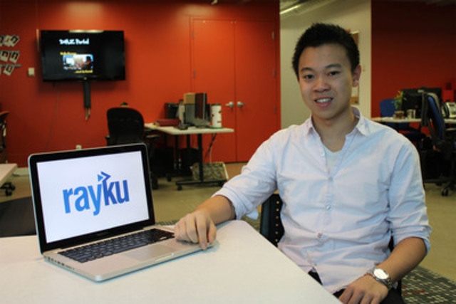 Donny Ouyang, founder and CEO of Rayku.com (http://www.rayku.com) , the world's first market-driven platform for accessible tutoring (CNW Group/Rayku.com)