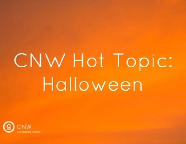 CNW Hot Topic: Halloween (CNW Group/CNW Group Ltd.)