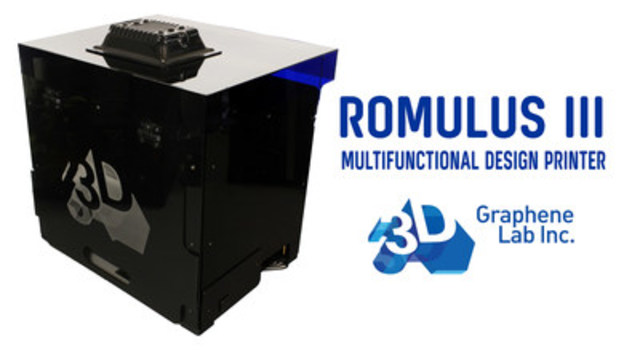 Graphene 3D Prototype Multi-functional Printer (CNW Group/Graphene 3D Lab Inc.)