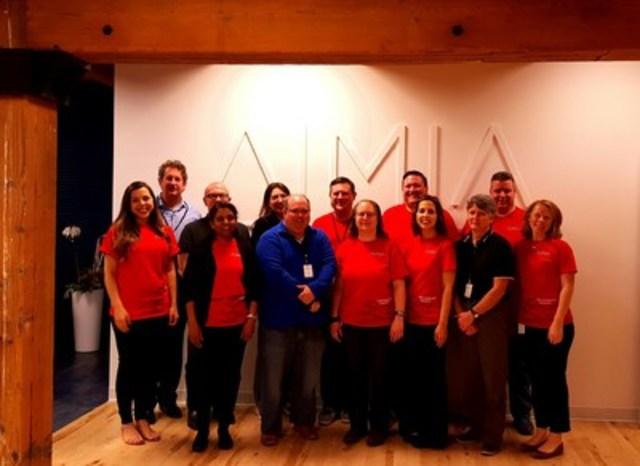 L'équipe de Minneapolis se joint à la semaine globale de l'analyse philanthropique des données d'Aimia (Groupe CNW/AIMIA)