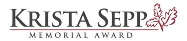 Krista Sepp Memorial Award (CNW Group/Kinark Child and Family Services)