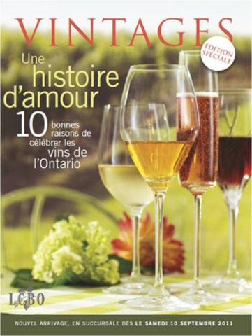 Une livraison spéciale de VINTAGES présente les tout nouveaux vins VQA. (Groupe CNW/Régie des alcools de l'Ontario)