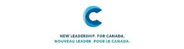 Logo: New Leadership. For Canada. (CNW Group/Chong.ca)