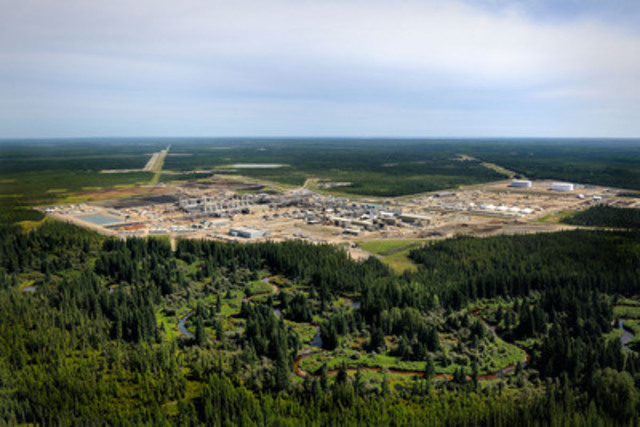 Cenovus Energy's Christina Lake oil sands operation. (CNW Group/Cenovus Energy Inc.)