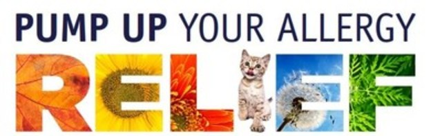 Logo: Pump up your allergy relief (CNW Group/Massy Forget Langlois relations publiques)
