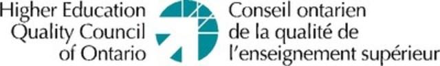 Conseil ontarien de la qualité de l'enseignement supérieur (Groupe CNW/Conseil ontarien de la qualité de l'enseignement supérieur)