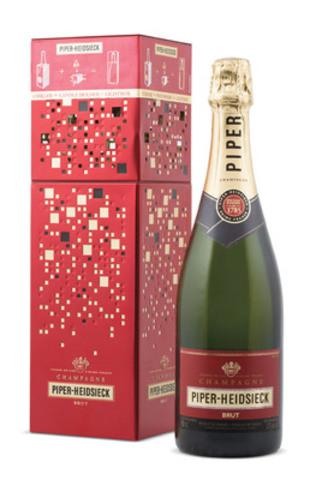 Le Champagne Brut Piper-Heidsieck, boîte scintillante (Groupe CNW/Régie des alcools de l'Ontario)
