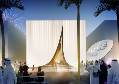 Snow Cape: The Finland Pavilion at EXPO 2020 Dubai