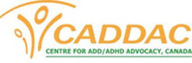 Centre for ADHD Awareness (CADDAC) (CNW Group/Centre for ADHD Awareness (CADDAC))