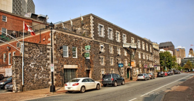 Killam Properties Inc. acquired Halifax's Brewery Market and Keith Hall, and adjacent land for development, on March 31, 2015. (CNW Group/Killam Properties Inc.)