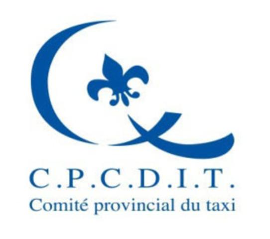 Comité provincial de concertation et de développement de l'industrie du taxi (CPCDIT) (Groupe CNW/Comité provincial de concertation et de développement de l'industrie du taxi (CPCDIT))