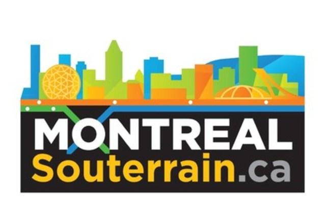 Logo : Montréal Souterrain.ca (Groupe CNW/Montréal Souterrain.ca)