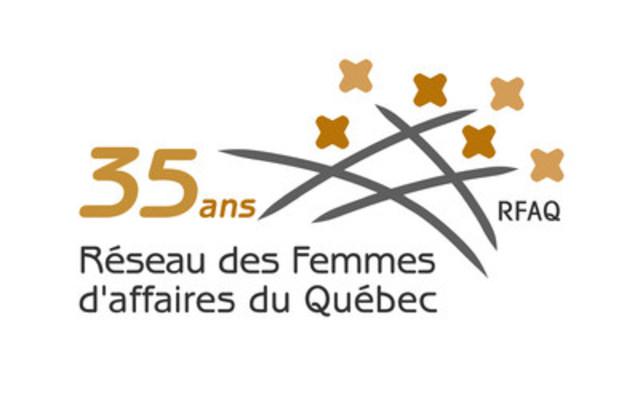 Logo : Réseau des Femmes d'affaires du Québec Inc. (Groupe CNW/Réseau des Femmes d'affaires du Québec Inc.)