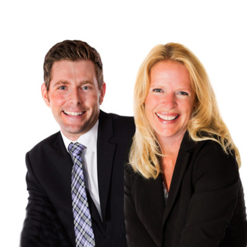 From left to right: Benjamin Mann, Partner, and Kathy Byvelds, Managing Partner, Collins Barrow WCM LLP (CNW Group/Collins Barrow National Cooperative Incorporated)